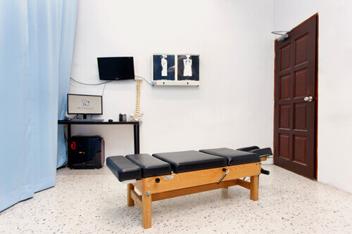 Our treatment room